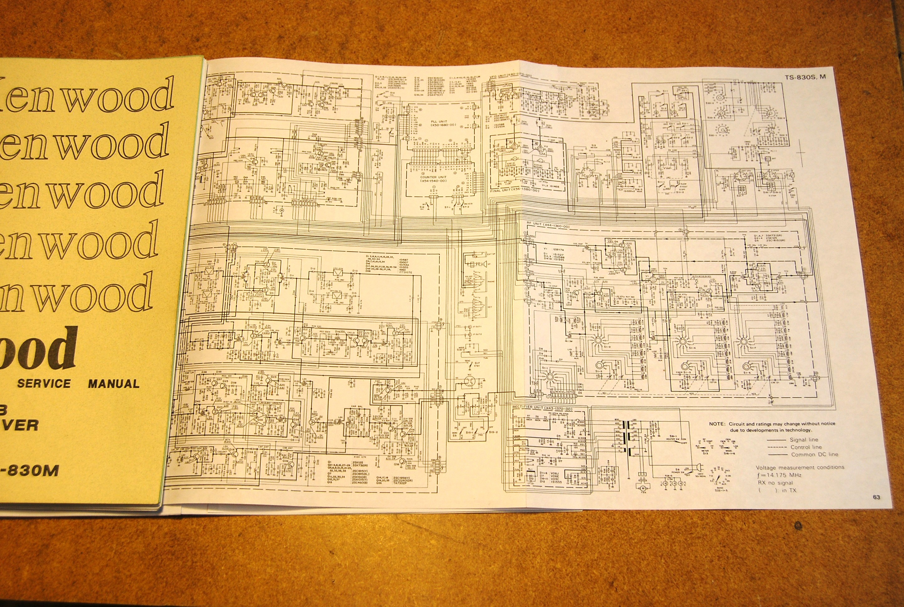 Kenwood Service Manuals ~